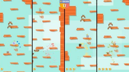 Switch「ジャンピングジョー&フレンズ」が配信開始!障害物をジャンプで避けながら登っていくアクションゲーム