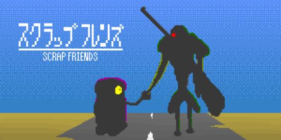 「スクラップフレンズ」の事前登録受け付けが開始!2体のロボットによる終末おさんぽアドベンチャー