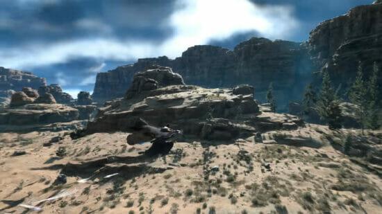 PS5/PC向け「FORSPOKEN」が2022年に発売決定!美しくも絶望感あふれる地「アーシア」の謎を紐解くアクションRPG