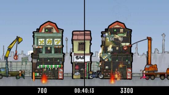 Switch「モンケンクラッシャー」が配信開始!鉄球を振り回し、建物を破壊して人質を救い出すアクションゲーム