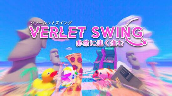 「ヴァーレットスイングー非常に速く進む」が日本向けに配信開始!カラフルでクレイジーな世界を駆け巡るスイングアクション