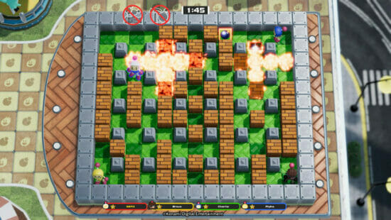 「スーパーボンバーマン R オンライン」が基本無料で2021年に配信決定!最大64人のプレーヤーと対戦できる「バトル64」が新たに搭載