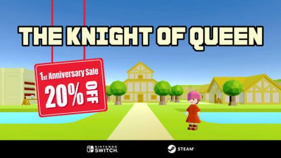 VRロールプレイングゲーム「ナイトオブクイーン」が特別セールを実施!Steam版とSwitch版が20%オフに