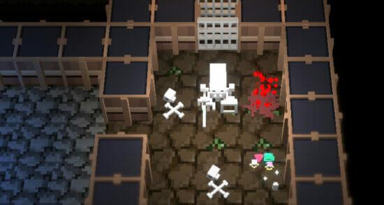 リアルタイムで進行するアクション系ローグライクRPG「ダンジョンに捧ぐ墓標」