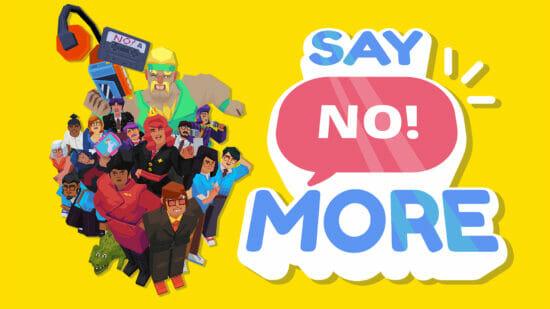 「イエス」しか言えない世界で、意地悪な上司に「ノー」を突きつけるゲーム「Say No!More」が発売開始!