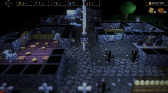 「ダンジョンに捧ぐ墓標」が発売開始!潜るたびに形を変えるダンジョンに挑むローグライクRPG