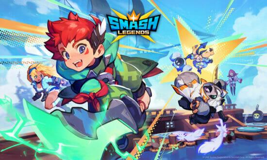 LINE Gamesの新作タイトル「SMASH LEGENDS:スマッシュレジェンド」が配信開始!PC・モバイルで遊べるマルチプレイヤーアクション
