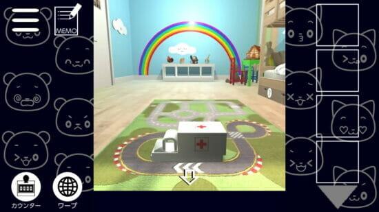 Switch「子供部屋での脱出~ニャン蔵&クマ吉の脱出ゲームシリーズ~」が4月22日に配信!初心者向けのボイス付き脱出ゲーム