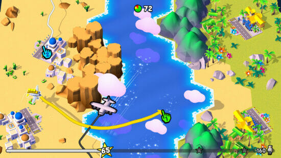 Switch「フライ トゥギャザー!」が発売開始!飛行機が衝突しないよう空路を描く飛行機アクションゲーム