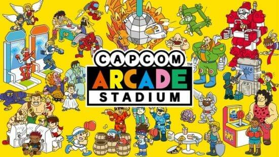 「カプコンアーケードスタジアム」のPS4版、Xbox One版、Steam版が配信開始!「ストII」など人気アーケードゲーム32タイトルを収録
