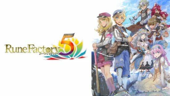 Switch「ルーンファクトリー5」が発売開始!ファンタジー世界で暮らす冒険・生活RPG