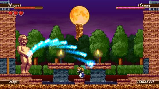 Switch「メイドさんを右にミ☆」が6月10日に発売決定!メイドさんが鉄球を振り回すデスマチックアクションゲーム