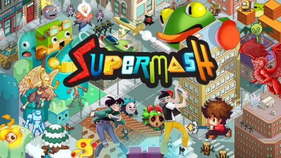 「スーパーマッシュ」が発売開始!2つのゲームジャンルを組み合わせて斬新なゲームを作ろう