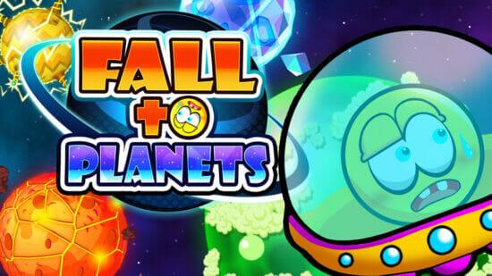 宇宙船を転がして脱出!2D横スクロール「FALL to PLANETS」が配信開始!