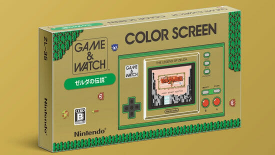 「ゲーム&ウオッチ ゼルダの伝説」が11月12日に発売決定!初代「ゼルダの伝説」など4種類のゲームを収録