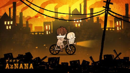 スマホゲーム「AZNANA」が2021年秋に配信予定 生首のアズナナと一緒に、生まれた町から脱出を目指す放置型アドベンチャー
