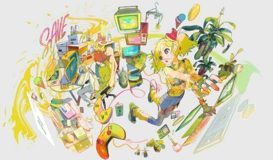 「東京ゲームショウ2021 オンライン」のメインビジュアルが公開!TGS史上初となるVR会場も新設