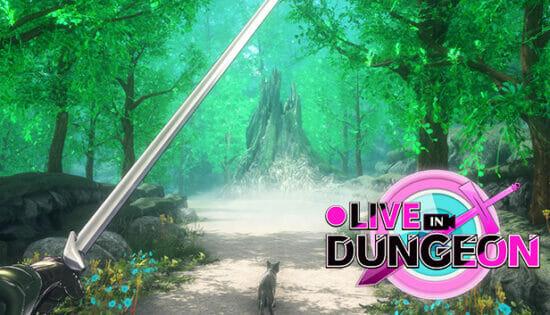 異世界で配信者になりきるRPG「●LIVE IN DUNGEON」が発売開始!ダンジョンを探索・配信して「いいね!」をもらおう
