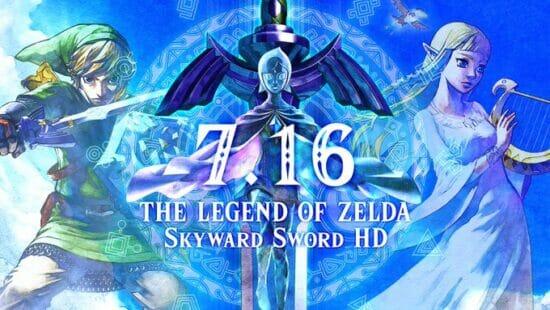 「ゼルダの伝説 スカイウォードソード HD」が発売開始!Joy-Con2本持ちで直観的な操作が可能