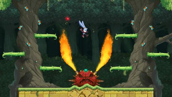 「カゼと野生のマスク」が8月5日に発売決定!動物の力を借りて巨大化した野菜と戦うアクションゲーム