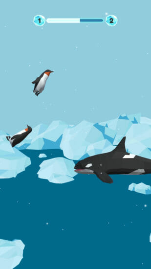 「PenguinHopping」が配信開始!ペンギンをジャンプさせてゴールを目指すジャンプアクションゲーム