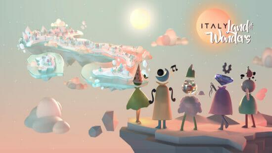 「不思議の国 イタリア」が配信開始!イタリアの不思議や文化遺産が学べるゲームアプリ
