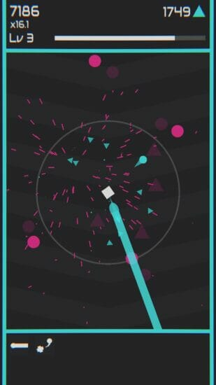 「Mini Blaster」が配信開始!派手な演出が楽しめる全方位シューティングゲーム