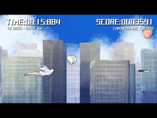 Android版「サバイブカレー」が配信開始!ニワトリが包丁片手に空を駆けてカレーを作るシューティングゲーム