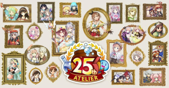 「アトリエ」シリーズ25周年を記念した特設サイトが公開!東京ゲームショウで25周年記念作品の発表も