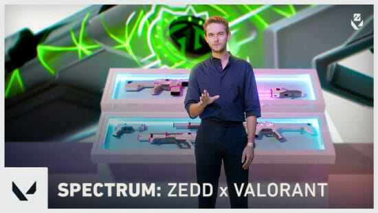 「VALORANT」とグラミー賞アーティスト・DJ Zeddがコラボ!オーディオ連動型スキン「スペクトラム」が登場