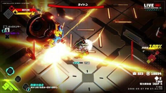 「メタリックチャイルド」が発売開始!巨大な敵ロボットの一団に立ち向かうローグライト・コアアクション