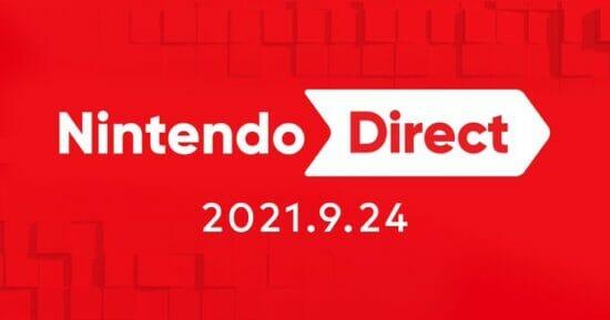 「Nintendo Direct 2021.9.24」が9月24日7時から配信決定!冬に発売されるSwitch向けソフトの情報を公開