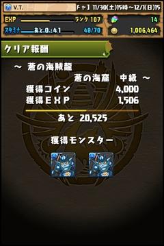 蒼の海賊龍中級7